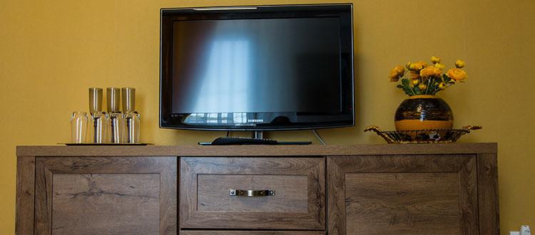 Televizor apartament cu un dormitor