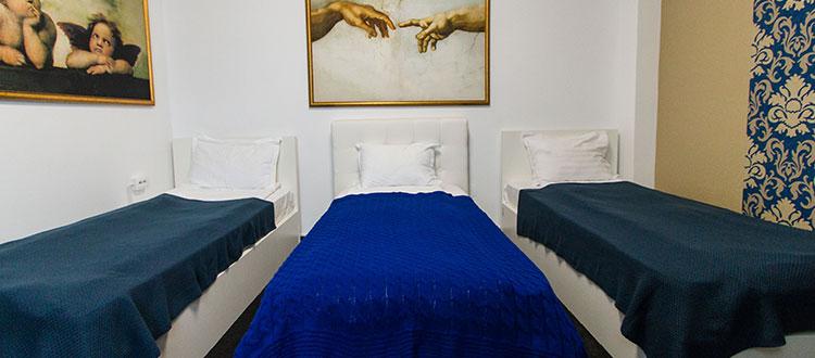 Camera trei paturi - Hotel Jolie